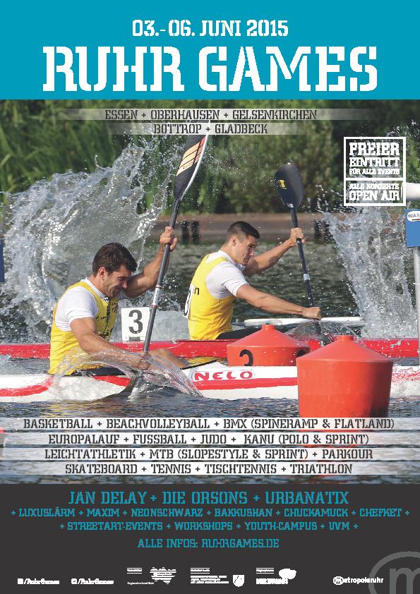 Ruhr Games 2016 Kanu-Rennsport