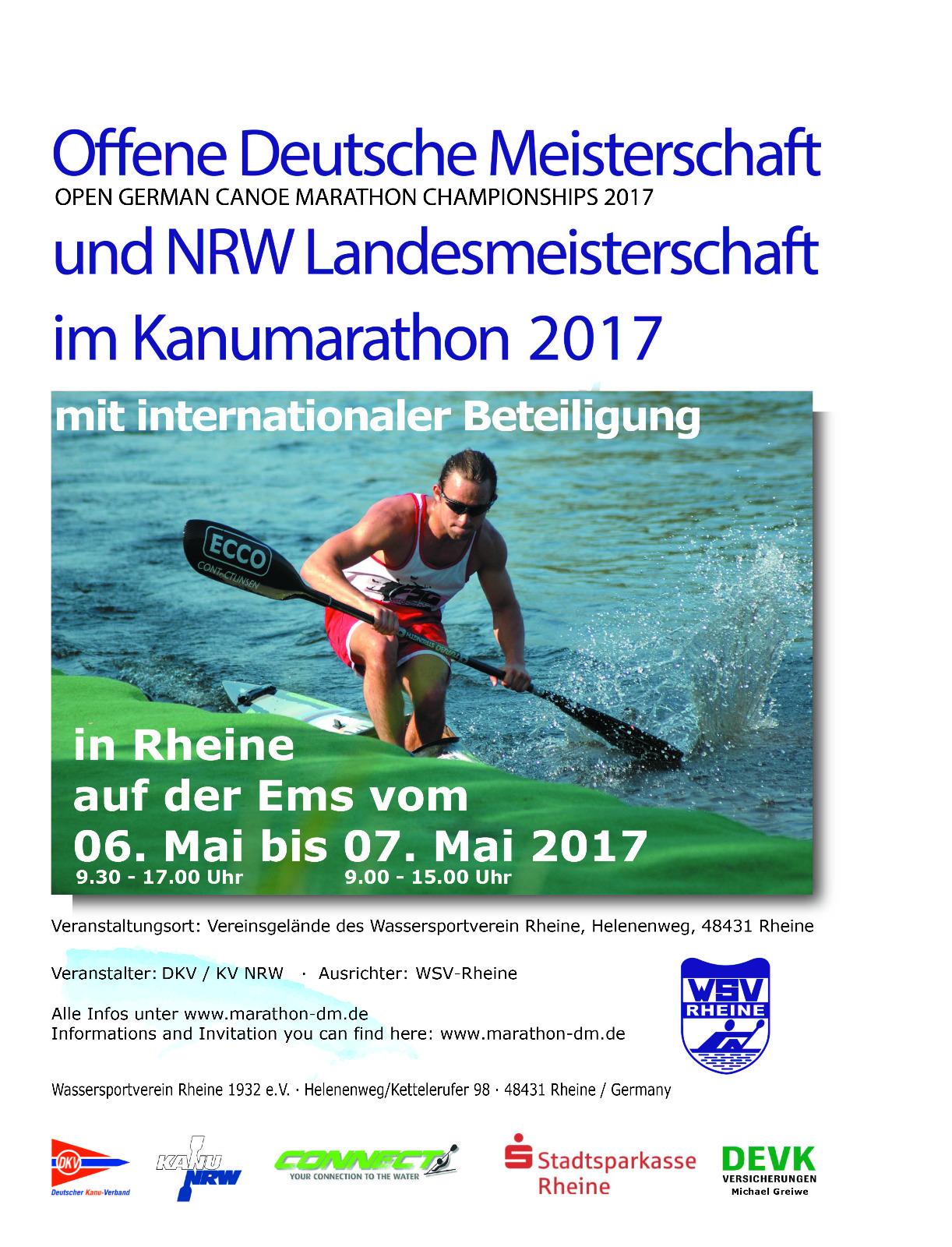 Kanu-Marathon 2017 in Rheine