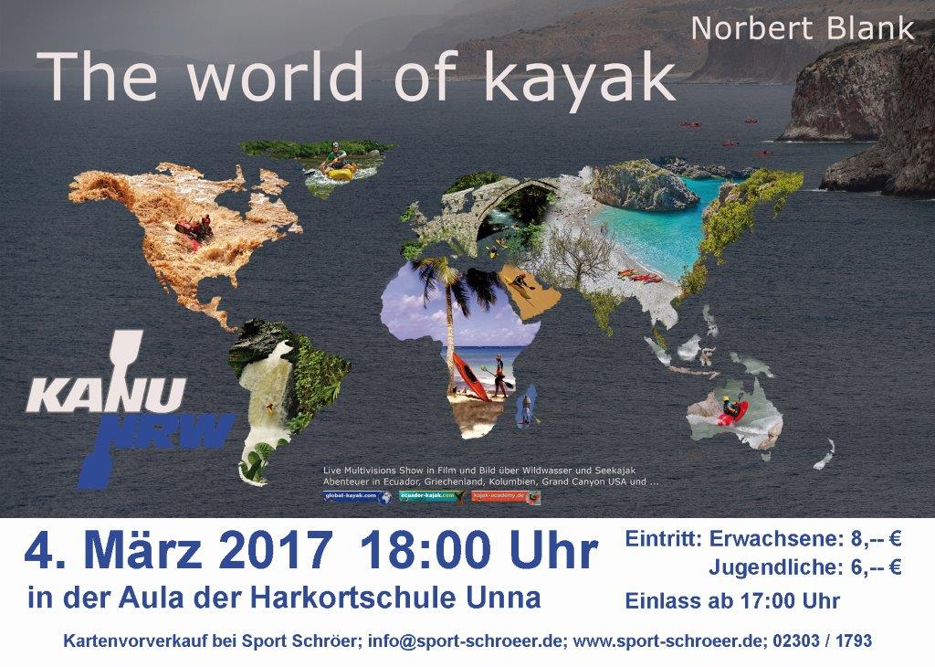 werbezettel world of kayak