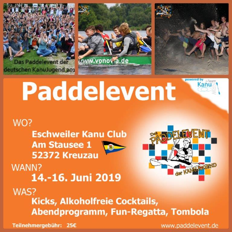 collage paddelevent 2019
