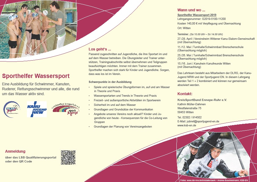 foto flyer sh wassersport kooperation