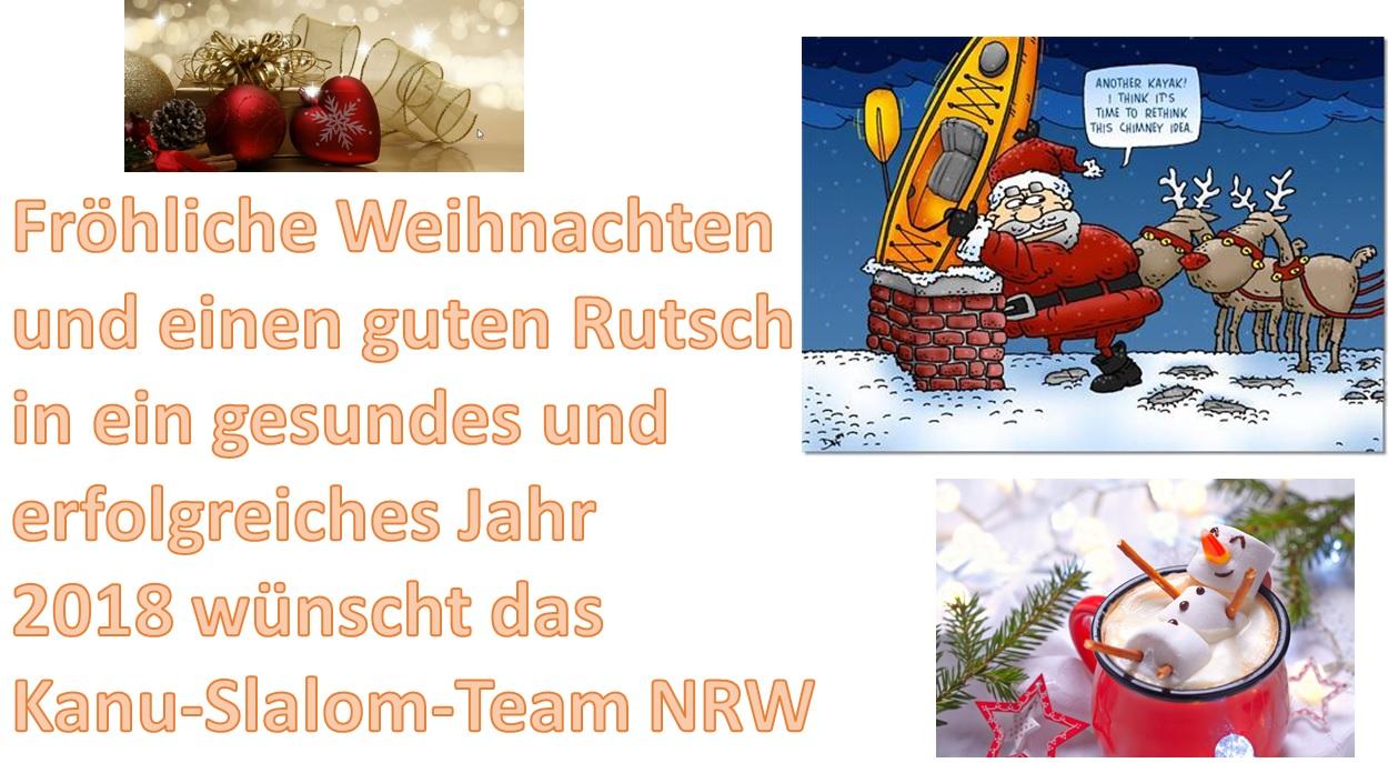 Weihnachtsgrüße Team.Weihnachtsgrüße Aus Dem Nrw Kanu Slalom Kanu Verband Nrw E V
