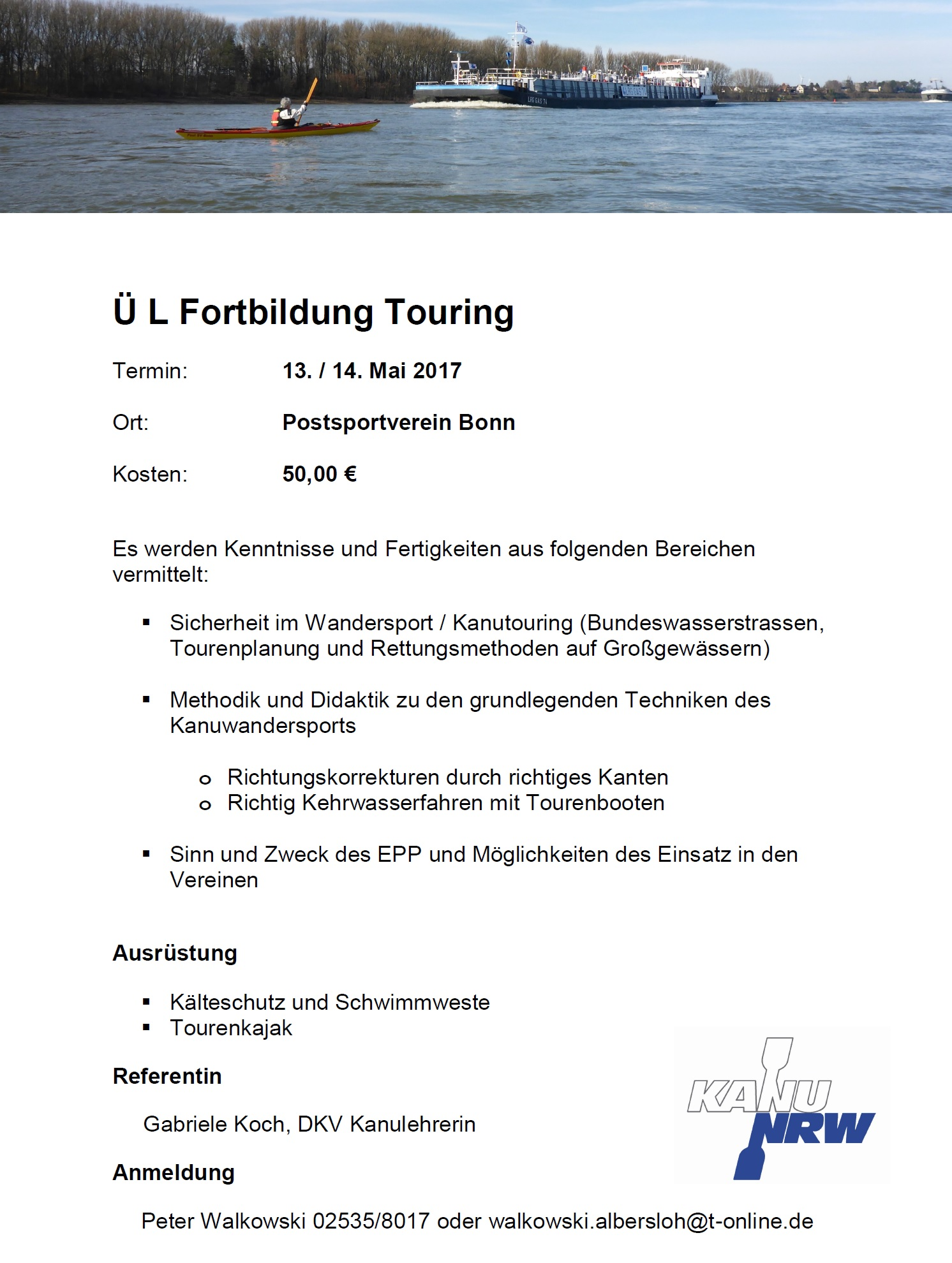 l fortbildung touring 2017